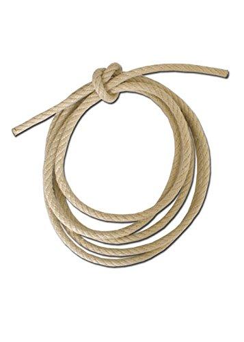 Plastique solide corde chanvre Corde en chanvre 10 cm Diamètre tendeurs pour corde LARP Camping Moyen-âge longueurs différentes L marron