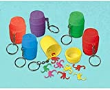 Amscan Monkey Game Keychains | Party Favor | Pack of 12
