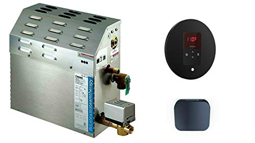 Read About Mr Steam MS-Super2-EC1 Steam Bath Generator Package in MATTE BLACK finish for rooms up to...
