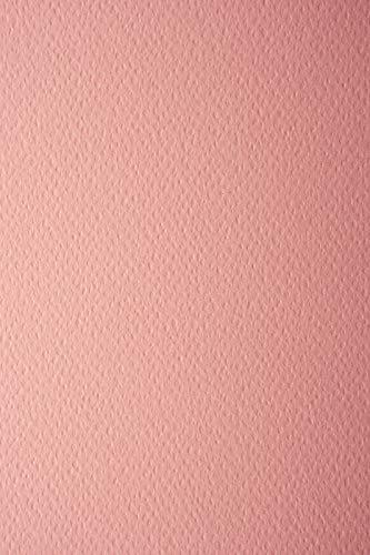 10 Blatt Lachsfarbe 220g Tonkarton einseitig strukturiert DIN A4 210x297 mm Prisma Salmone Ton-Karton geprägt Karton Struktur-Textur einseitig Karten-Karton bunt mit Prägung A4