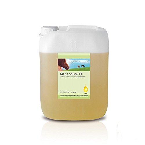 Eggersmann - Complément huile de chardon pour cheval - 1 x 4.5 kg