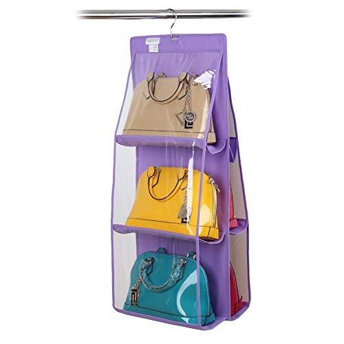 Organizer voor maximaal 12 zakken met praktische haak voor kast of deur. MWS (Viola)