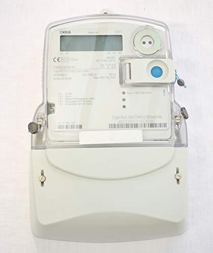 MT - 172 elektronischer Drehstromzähler von Iskra 5/60 Amp. UNGEEICHT, Zählerkreuzmontage