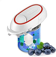 Electric Can Opener, Portable Battery Operated Can Opener for Kitchen, Food-Safe Handheld Automatic Electric Can Opener
