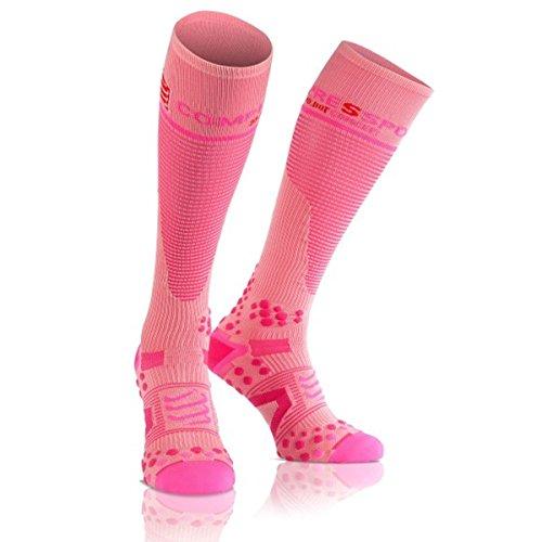 Full Socks V2.1 Compressport - Rosa 1M