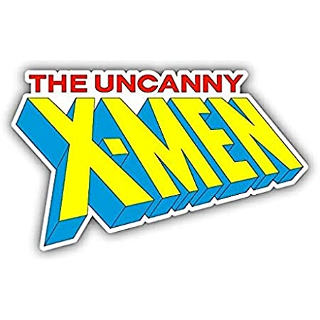 X Men Slogan Cartoon Car Bumper Sticker Decal