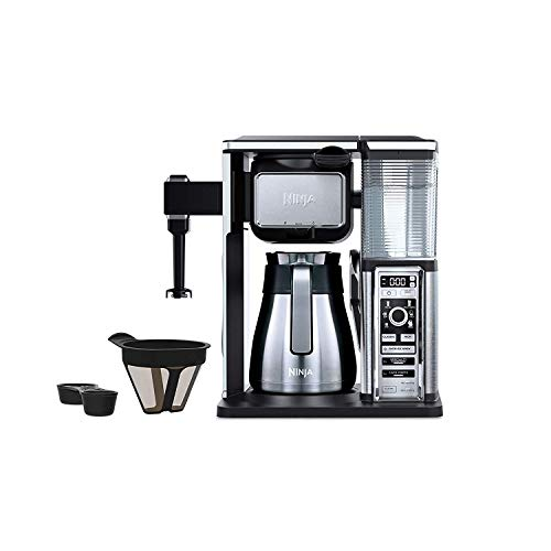 Ninja Coffee Bar 10-Cup Coffee Maker (CF091) Stainless Steel/Black - New