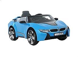 Rollplay Electric Ride-on BMW Car - Blue