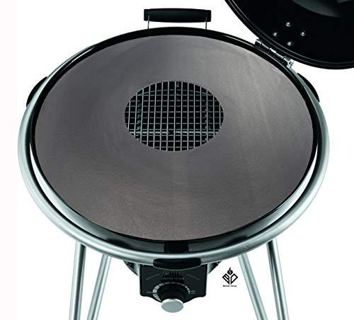 Becker Design 6mm Feuerplatte | Grillring | Grillplatte | Plancha - Passend für 60er Kugelgrill/Feuerschale