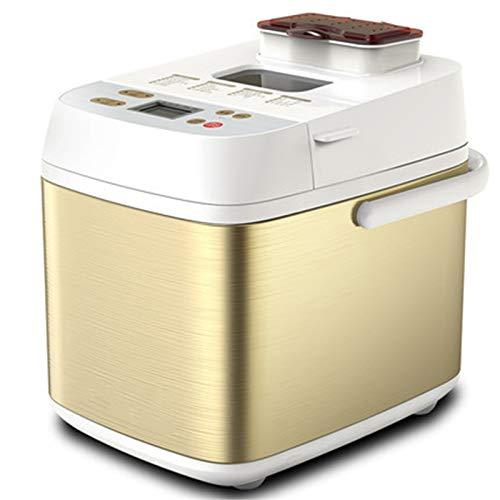 Panificadora Automática Horneado rápido Máquina para hacer pan Acero Inoxidable Fabricante de pan de panadería Más multifuncional Mantener caliente Herramientas de cocina Luces indicadoras LED