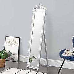 en.casa  160x40 cm Ganzkörperspiegel rechteckig