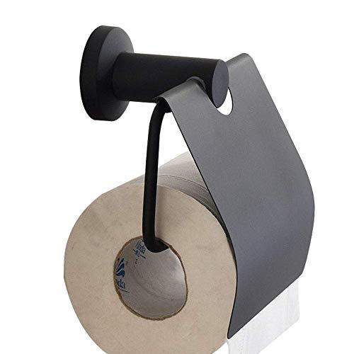 ZJN-JN Tissue Holder for Bathroom SUS 304 Stainless Steel Black Roll Paper Holder Toilet Paper Holder Tissue Holder Restroom Bathroom Accessories