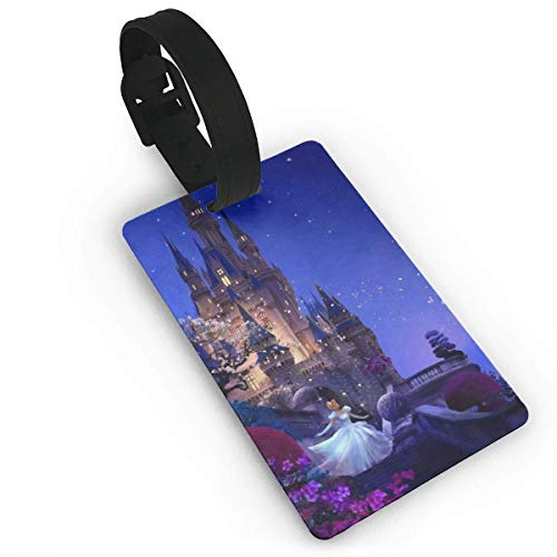 Lage Tags Princ and The Castle Suitcase Labels Bag Tag Travel ID Identifier Baggage Tag