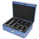 HMF 308-05 Caja de caudales, para monedas 20 x 16 x 9 cm, azul