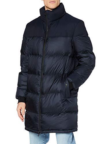 HUGO Mens Magnus2041 Dress Coat, Dark Blue (405), XXL