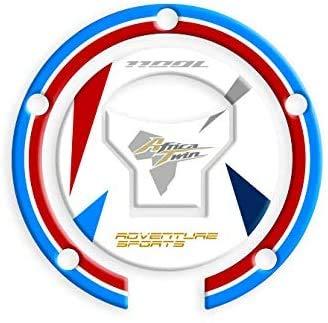 PROTECCIÓN DE Tapa DE Combustible Resina 3D Africa Twin CRF 1100 L Adventure Sports GP-649 (Tricolor)