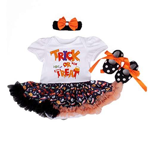 BabyPreg Mi Primer Traje de Halloween para niña Infantil Disfraz de Acción de Gracias...