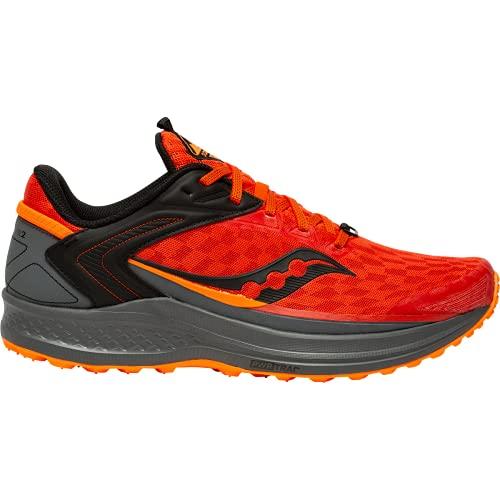 Saucony Canyon TR 02 Scarpa Running da Trail per Uomo Arancione 44 EU