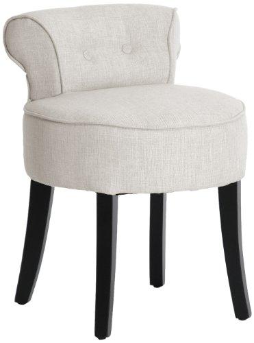 3. Baxton Studio Millani Linen Modern Lounge Stool
