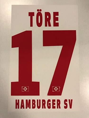 Flock Original Trikot Hamburger SV 17cm - TÖRE 17