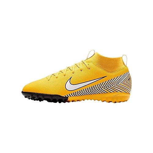Nike Jr. Superfly VI Academys Neymar Turf, Scarpe da Calcio Unisex-Adulto, Giallo (Amarillo/White-Black 710), 37.5 EU