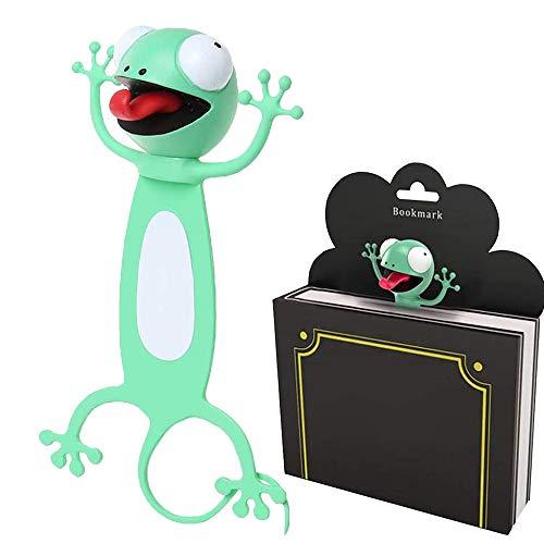 Segnalibro Bambini 3D,Segnalibri Animali dei Cartoni Animati 3D,Segnalibri Personalizzati,Segnalibro Animale,Segnalibro Bambini Regalo,Segnalibro Bambini
