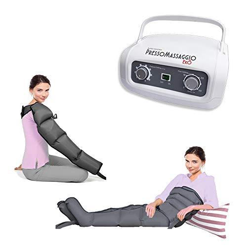 Máquina de masaje PressoMassaggio Mesis EkÓ con 2 botas pierna + Kit Slim...