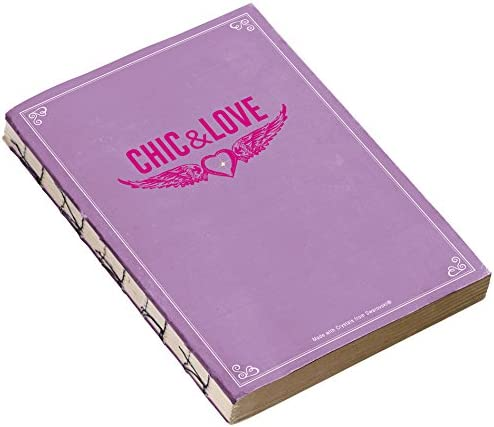Chic Love 100011Notebook Vintage High quality Quality inspection 148x 210mm Purp
