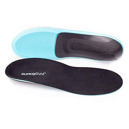 Superfeet EVERYDAY Comfort Insoles, Memory Foam Anti-Fatigue Inserts for Orthotic Support and Cushion