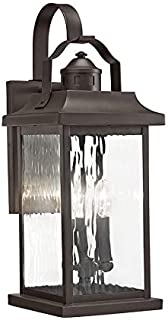 KICHLER Linford 39457 22.2-in H Olde Bronze Candelabra Base (E-12) Outdoor Wall Light
