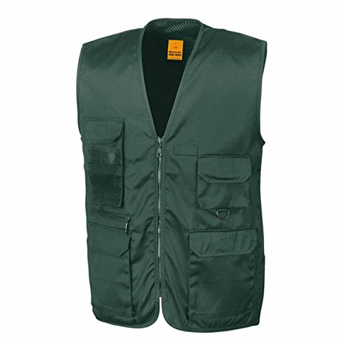 Result Ro45X - Gilet de safari petit - Bleu (Lichen Green) - Medium