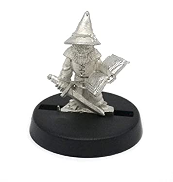 Stonehaven Grippli Wizard Miniature Figure (for 28mm Scale Table Top War Games) - Made in USA