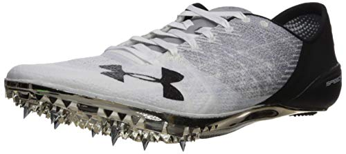 Under Armour unisex adult Speedform Sprint 2 Running Shoe, White (100 Steel, 9.5 US