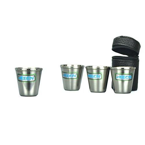 HEECN outdoor roestvrijstalen cup shot glas beker set whisky cup HEH-018