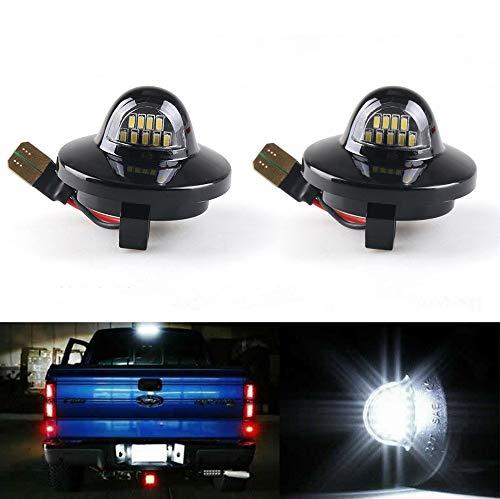 Yijueled - Iluminación LED para matrícula para Pickup F250 F350 F150