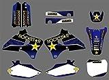 Adhesivo de Motocross Modificado GRÁFICOS amp;ANTECEDENTES Etiquetas Kits Pegatinas for la Yamaha 4 Tiempos YZ250F YZ400F YZ426F YZ 250 400 426 F 1,999 2,000 2,001 2,002