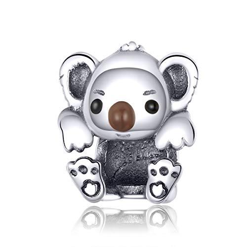 Abalorio de plata de ley 925 para bebé, compatible con pulseras Pandora
