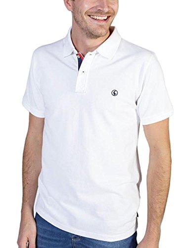 El Ganso 1100s180013 Polo, Blanco, X-Large (Tamaño del Fabricante:XL) para Hombre