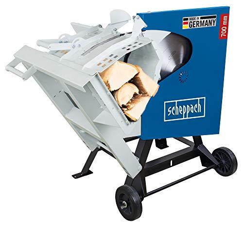 scheppach Wippsäge Brennholzsäge HS720 - 380-420V | 4500W | Sägeblatt Ø 700mm | Schnitthöhe 60-240mm | max. Scheitholz 370 x 240 mm | Wendeschnitt max. 250 mm