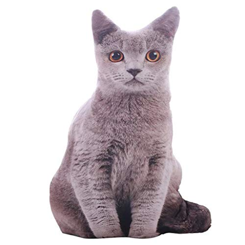 russian blue cat stuffed animal - 3