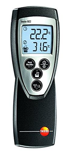 testo 922 Temperatur-Messgerät (2-Kanal), Temperaturmesser