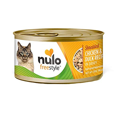 Nulo FreeStyle Canned Recipe with Shredded Chicken and Duck
