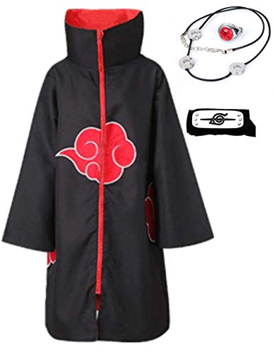 Tinyones Unisex Halloween Cosplay Costume Uniform Cloak with Headband (L, YOU)