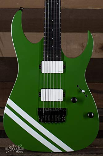 Ibanez JBBM20GR JB Brubaker Signature Guitar in Green with White Stripe