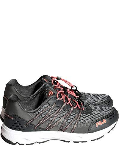 Fila Women's Sorrento Trail Running Sneaker EVA Comfort Footbed Shoe, Gray (6.5)