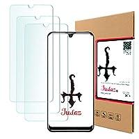 【 Judaz 】 3枚セット HD ガラスフィルム OUKITEL K9 対応 保護フィルム 最高硬度9H 日本製素材旭硝子製 ガラス 撥油性 指紋防止 超薄タイプ ラウンドカット 0.3mm フィルム OukitelK9 x3枚