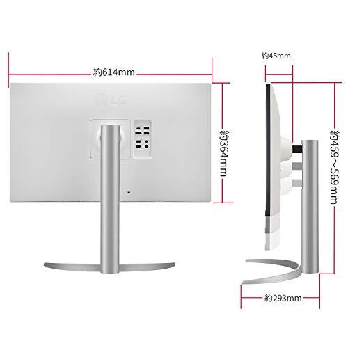 【Amazon.co.jp限定】LG4Kモニター27インチ27UP850-W(3年保証付/広視野角/HDR/IPS非光沢/DCI-P395%/フリッカーセーフ/USB-Type-C、HDMI×2/高さ調整/回転)
