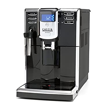 Gaggia Anima Coffee and Espresso Machine, Includes Steam Wand for Manual Frothing for Lattes and Cappuccinos with Programmable Options