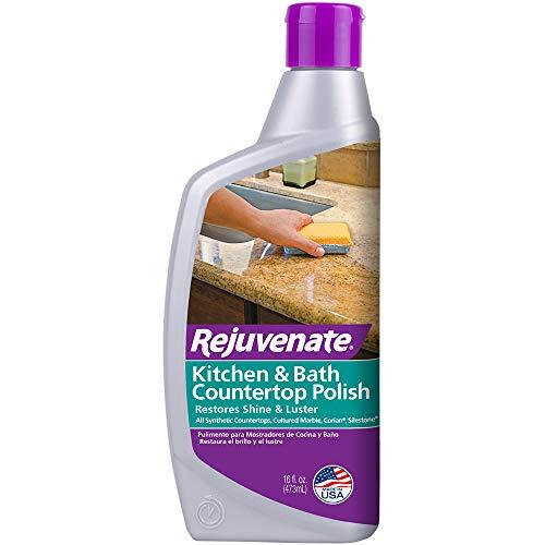 Rejuvenate Kitchen & Bathroom Countertop Polish – Brings...