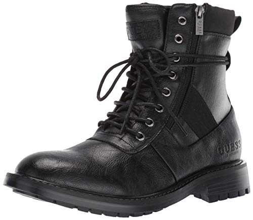 GUESS Men's Radford Boot, Black, 12 M US